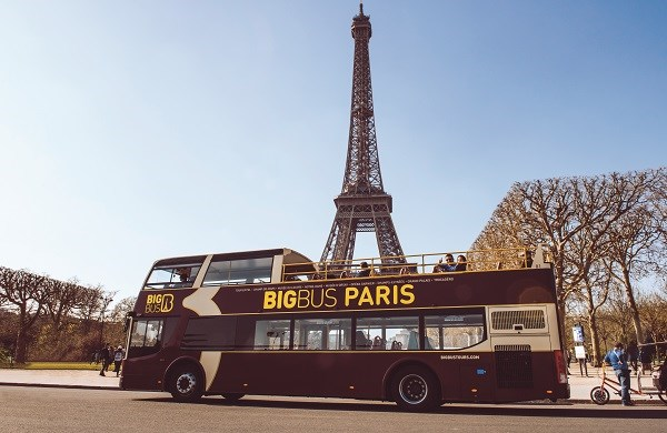 Big Bus Paris - Autobus panoramico