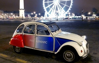 Parigi in 2CV - Paris Authentic